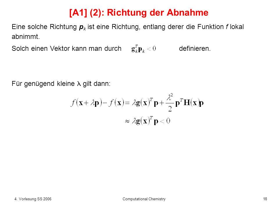 [A1] (2): Richtung der Abnahme